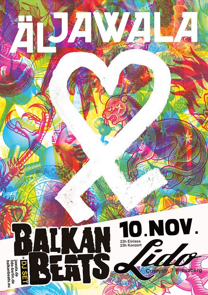 ÄL JAWALA LIVE @ BALKANBEATS